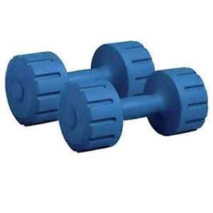 Arnav 2 Pcs 3kg Rubber Coated Professional Hexagonal Dumbbell Set for Strong Muscules