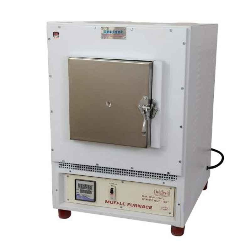 Unident 4kW Stainless Steel Preheating Muffle Furnace, M-PF1
