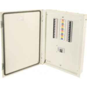 Indoasian Optipro 16 Module 16 Ways IP43 SPN Double Door Distribution Box, 811809