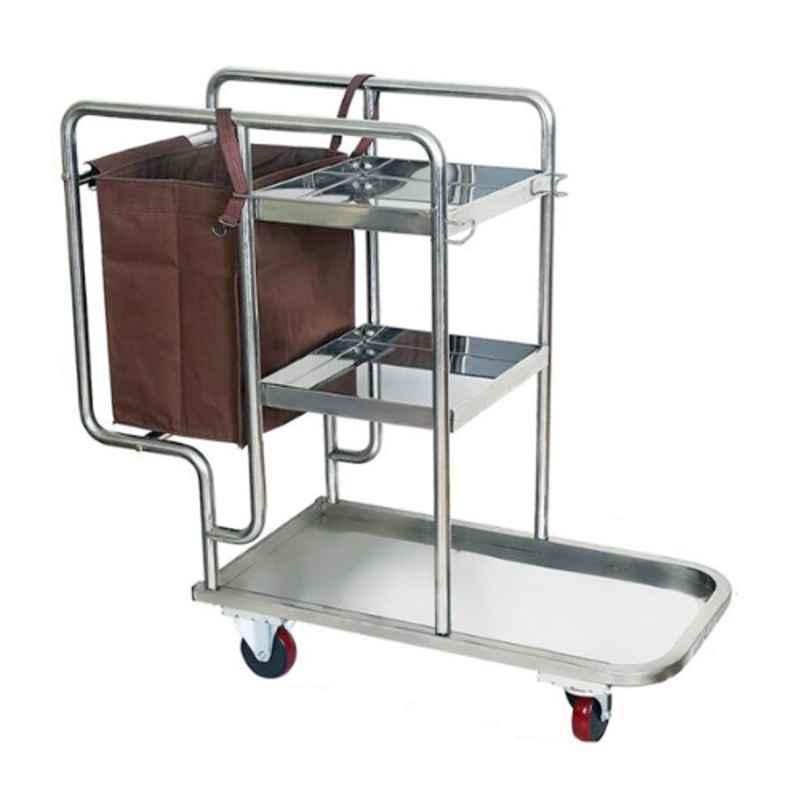 Suwas 100x45x82cm Stainless Steel Hotel Trolley, SU-SSMHT-HOTELT-006