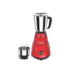 Morsel Gold Premium-001 500W Red Mixer Grinder with 2 Jars