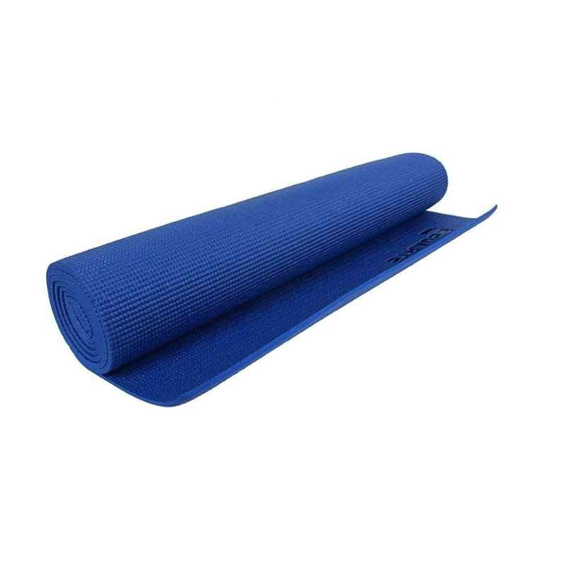 Strauss 1730x610x4mm Blue Yoga Mat with Cover, ST-1002