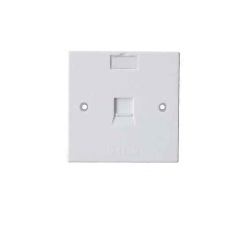 D-Link Single Phase Plate, NFP-0WHI11 (Pack of 10)