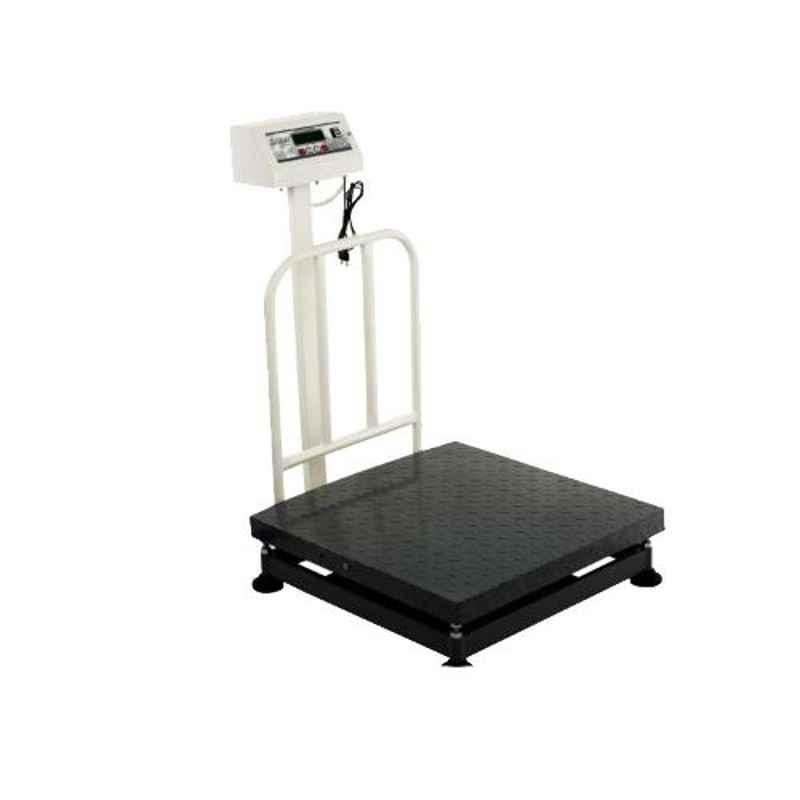iScale 300kg and 50g Accuracy Mild Steel Digital Industrial Heavy-Duty Platform Weighing Machine