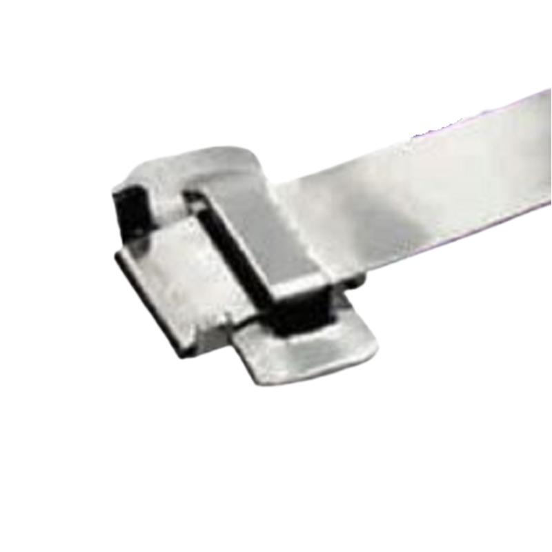 R-Loc 25 Pcs 229mm Stainless Steel 201 Jaw Type Precut Straps Box, PJ19A907