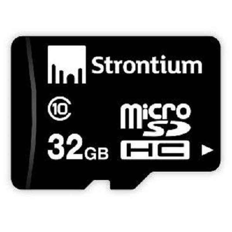 Strontium Micro SD 8GB Black Memory Card