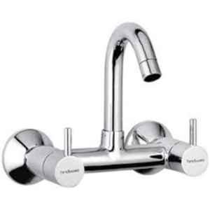 Hindware Flora Chrome Brass Sink Mixer with Swivel Spout, F280020