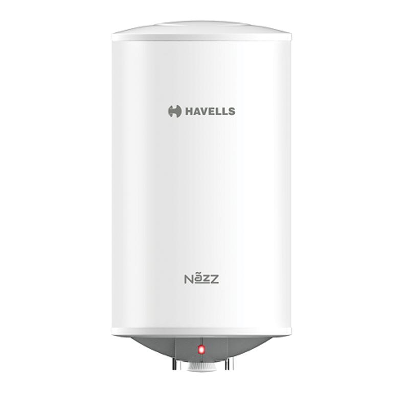 Havells Nazz 25L White & Grey Storage Water Heater, GHWENZTWG025