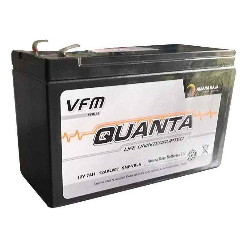 Amaron Quanta 12V/7Ah Lead Acid Battery, 12AVL007