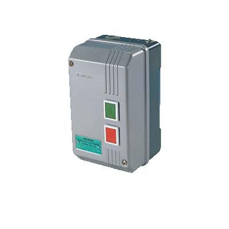 Siemens 3.7kW 6.3-10A 200-400V SS Housing DOL Starter with SPP Birelay, 3TW72911AB74