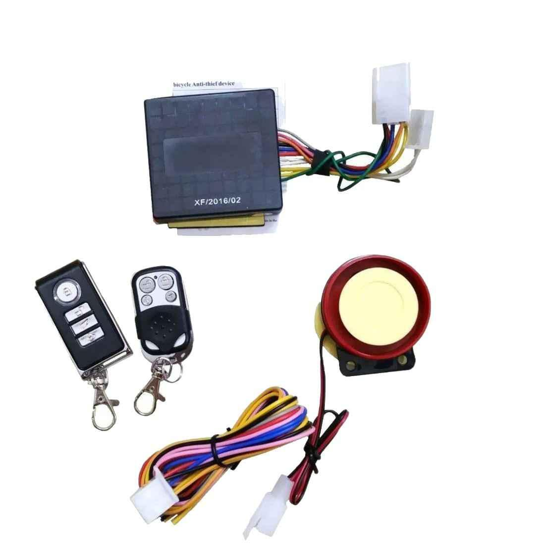 Buy Love4ride Anti Theft Security Alarm System With Remote For All Bikes Online At 699