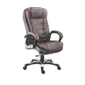Da Urban Vegas 21.5x21x47.5 inch Brown High Back Director Chair, DU-127