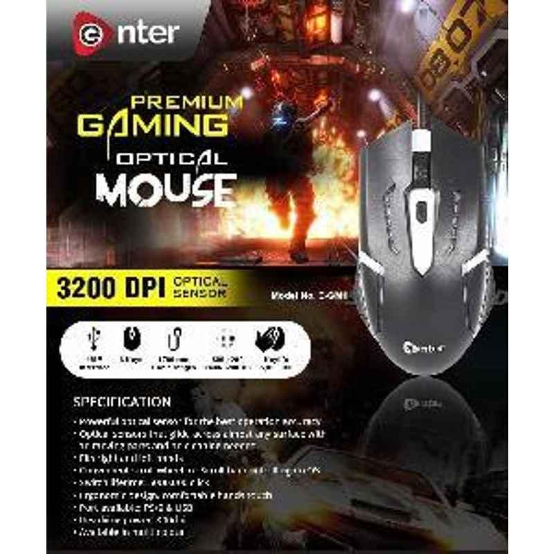 Enter Premium Gaming Mouse E Gm1 【1Year Warranty】 Mouse