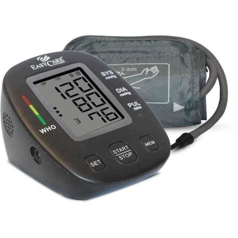 Easycare Black Fully Automatic Arm Style Digital Blood Pressure Monitor, EC9009