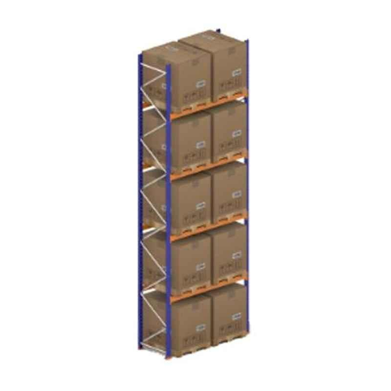 Godrej Ground Plus 4 Layers Steel Selective Pallet Racking, Max Load Capacity: 8000kg, Main Unit: 7000x2300x800mm (HxWxD)