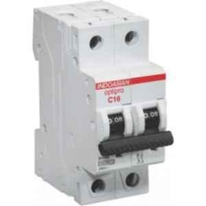 Indoasian Optipro 125A Double Pole AC Circuit Breaker, 811179