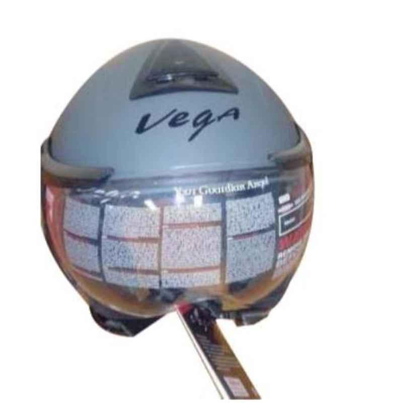 Vega Verve Dull Desert Storm 1 Open Face Motorbike Helmet, Size (L, 580 mm)