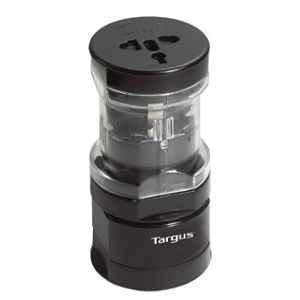 Targus 145g Black 7.62x19.3cm World Power Travel Adapter, APK01AP