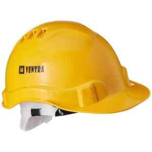 Ventra Safety Helmet, LDR Yellow (Pack of 5)