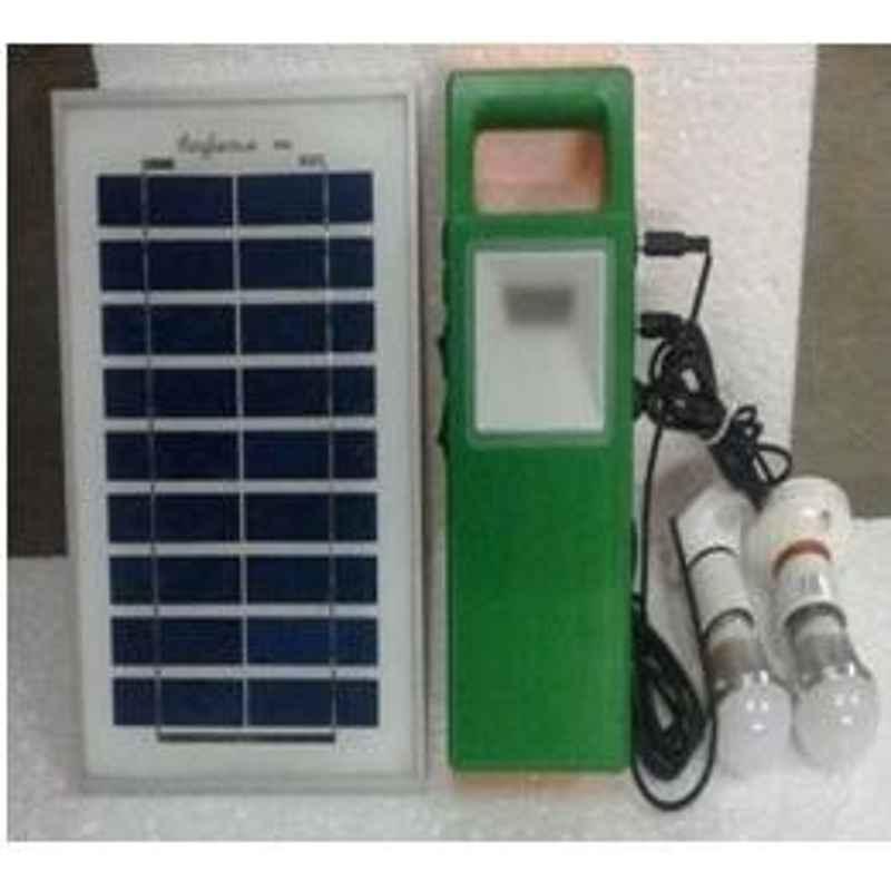 King Sun Solar Home Lighting System 5 Watt 6V Model No KSSHL-10