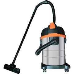 Powerup 1600W 25L Silver & Orange Wet & Dry Vacuum Cleaner, PU-VC-25