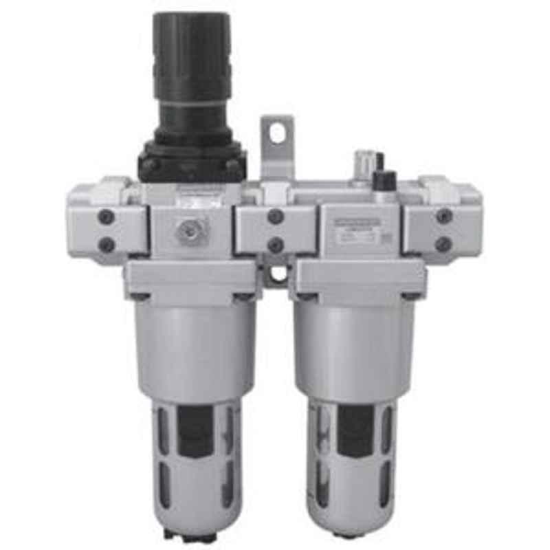 Janatics 1/8 Inch Filter regulator and Lubricator FRCLM 1563