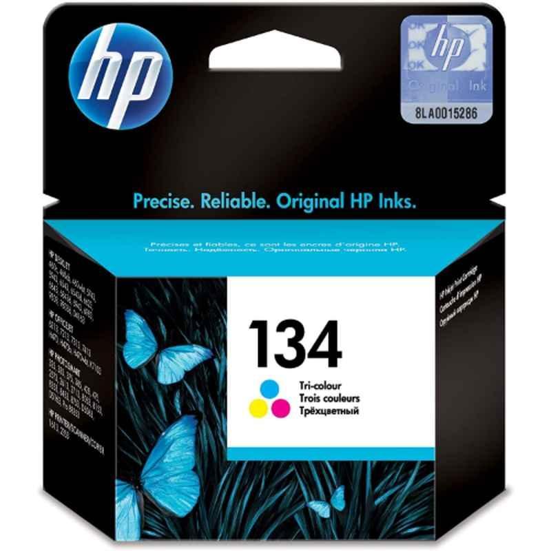 HP 134 Tri-Color Original Ink Cartridge, C9363HE