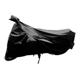 Mobidezire Polyester Black Bike Body Cover for Yamaha Crux (Pack of 5)