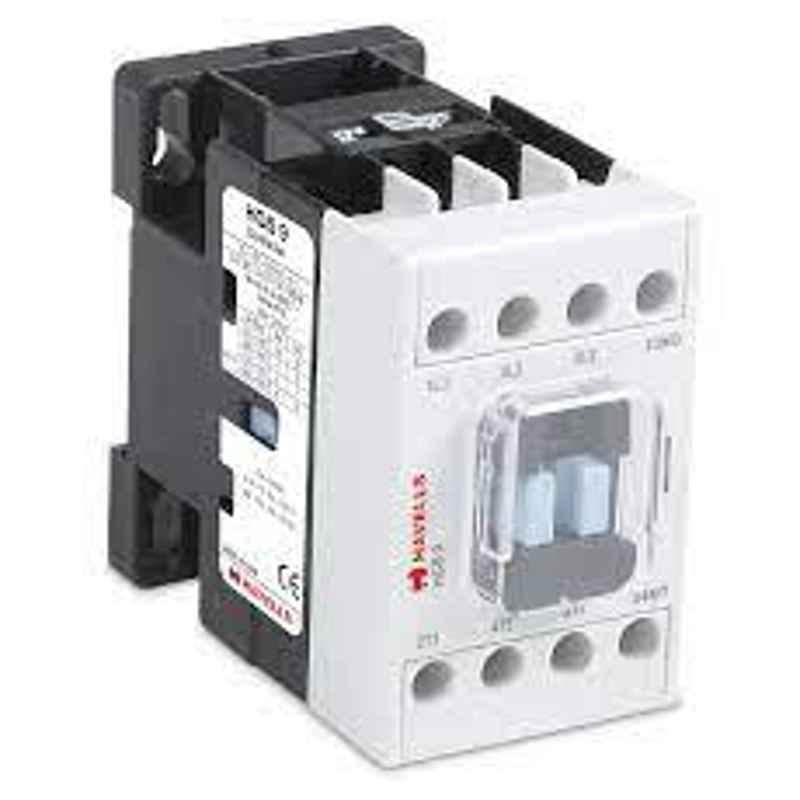 Havells 20A 260-440V Four Pole AC Coil Power Contactor, IHPHC020100W