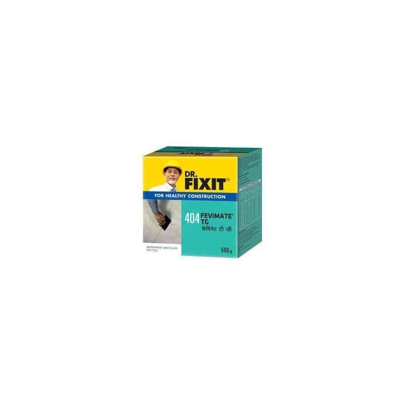 Dr. Fixit 0.5kg Fevimate TG White, 404 (Pack of 24)