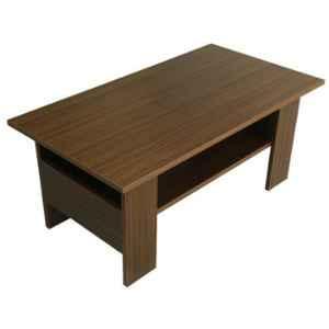 Evok Una Engineered Wood New Dark Thai Teak Coffee Table, FLILCTPBMTWN11465M