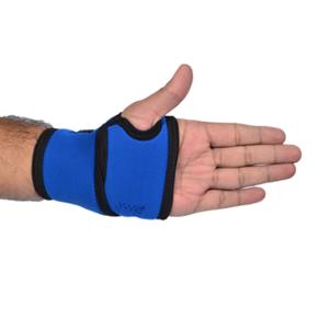 Vkare Neoprene Blue Wrist Binder with Thumb Support, VKB0106