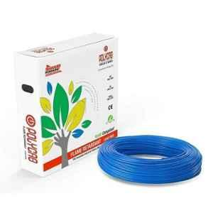 Polycab 1 Sqmm 90m Blue Single Core FRLF Multistrand PVC Insulated Unsheathed Industrial Cable