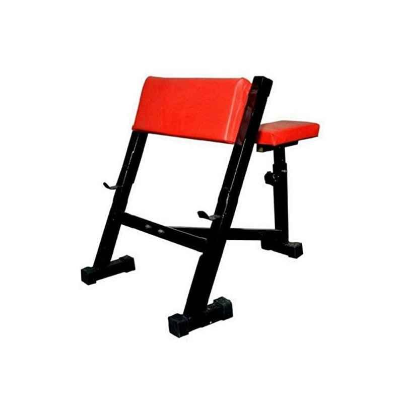 Spanco Multicolor 365kg Holding Capacity Preacher Curl Arm Exercises Bench/Biceps/Triceps/Wrist/Arms/Shoulder Excercises Bench/Fitness Bench/Weight Lifting Bench For Home Gym