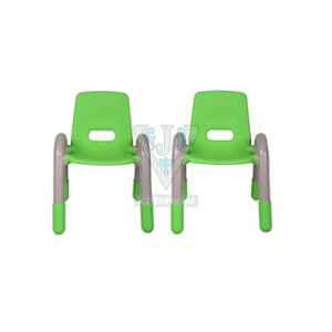 VJ Interior 11.5 inch Green Volver Engineering Plastic Kids Chair, VJ-242