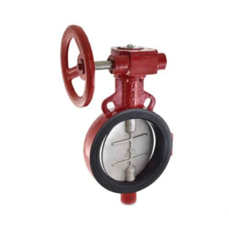Zoloto 50mm Wafer Type PN 1.6 Butterfly Valve with Electrical Actuator, 1078K