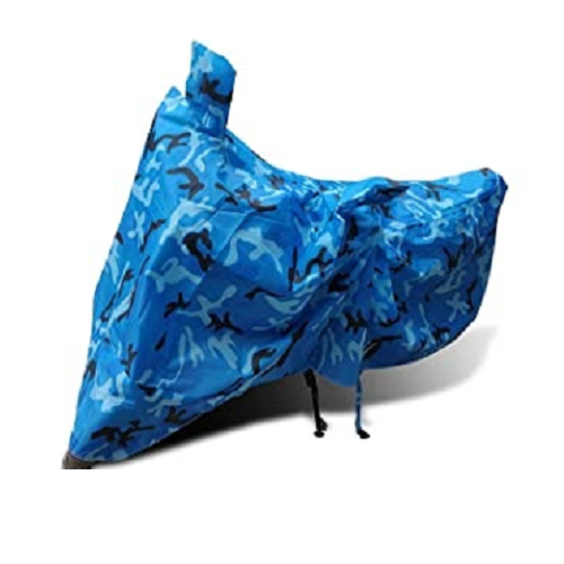 Kyathat Blue Jangal Army Bike Body Cover for CBF 1000