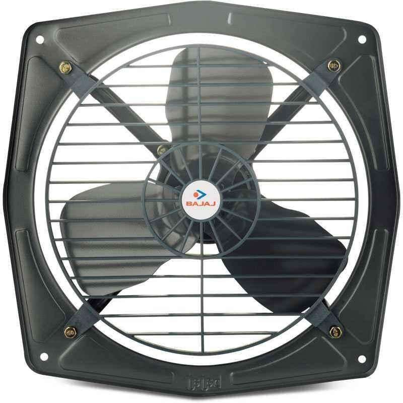 Bajaj Bahar Metallic Grey Fresh Air Exhaust Fan, Sweep: 300mm