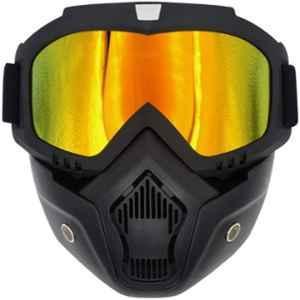 Otoroys Yellow Visor Biker Goggle, OTO FM