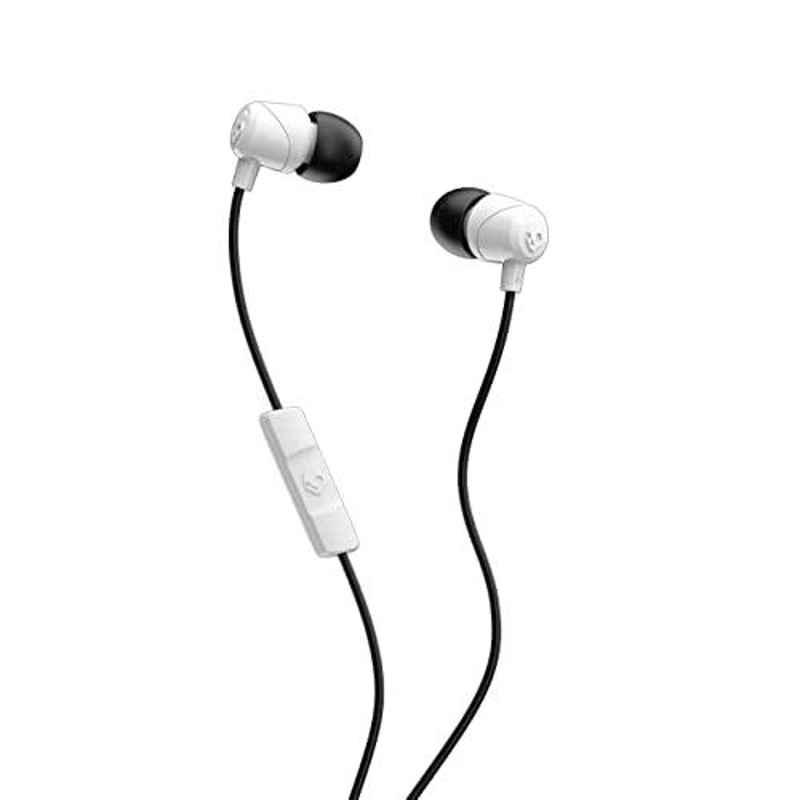 Skullcandy Jib White Wired in-Earphone with Mic, SCS2DUYK-441