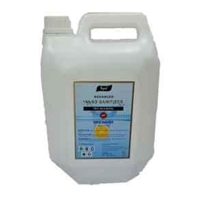 Ryaal 5L Lemon Fragance Gel Type Advanced Hand Sanitizer, HSZ/RIPL/A1