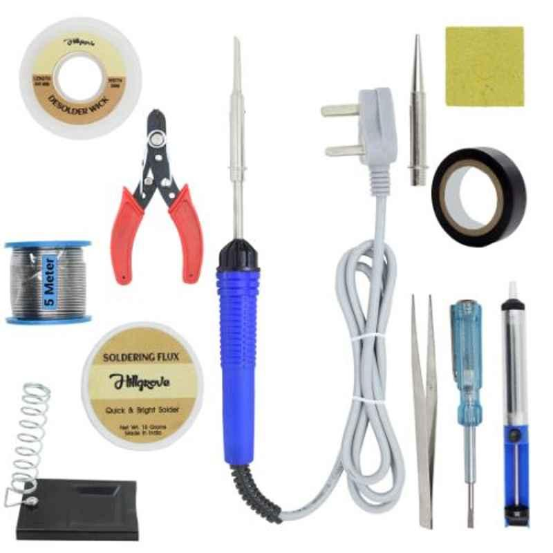 Hillgrove 12 in 1 Mobile Soldering Electronic Iron Kit, HG0063