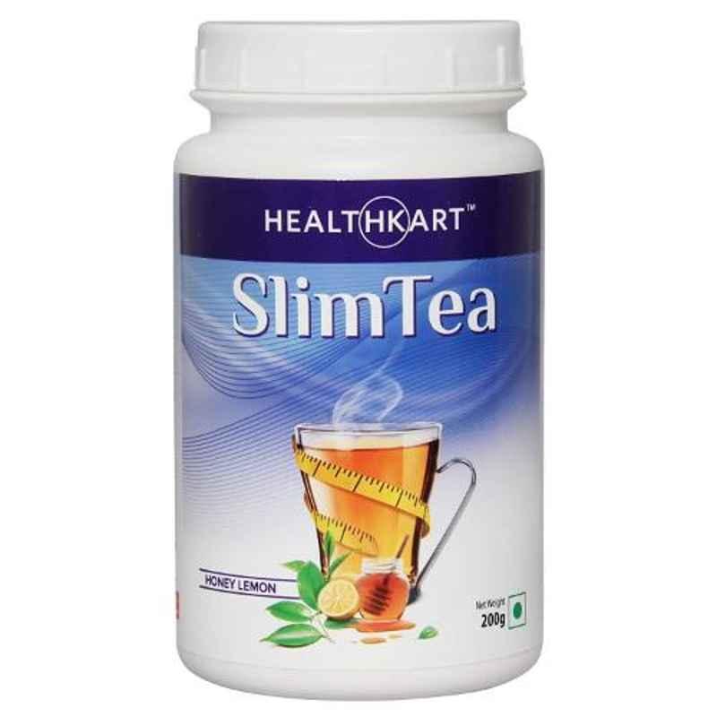 Healthkart 200g Honey Lemon Slim Tea with Garcinia, Green Tea & Green Coffee Beans, HNUT7660-02