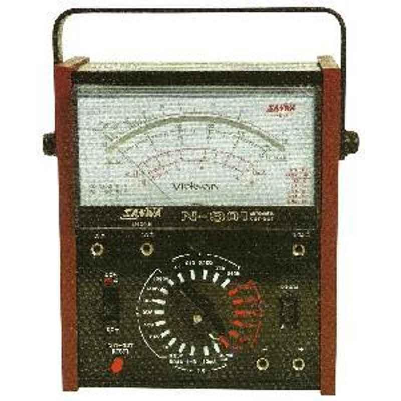 Sanwa 1000V AC Analog Multimeter With Automatic Circuit Breaker N-301
