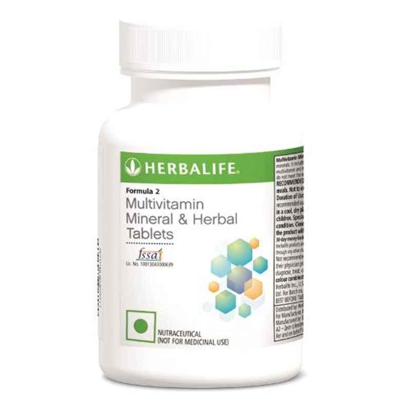 Herbalife 90 Pcs Formula 2 Mineral & Herbal Multivitamin Tablets, SEHL_MVIT
