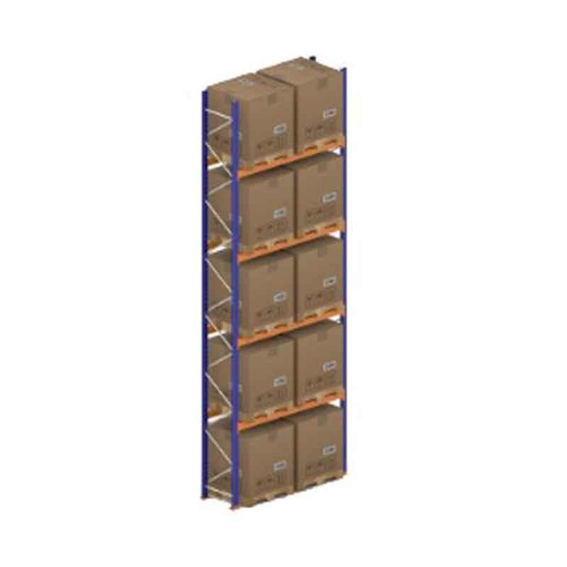 Godrej Ground Plus 4 Layers Steel Selective Pallet Racking, Max Load Capacity: 8000kg, Main Unit: 7000x2300x1000mm (HxWxD)