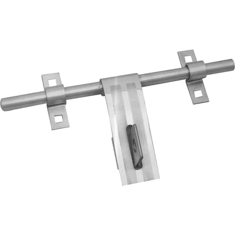 Smart Shophar 8 inch Stainless Steel Silver Flex Aldrop, SHA40AL-FLEX-SL08-P1