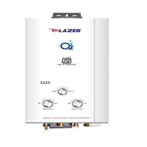 Lazer Oxy 6L White LPG Gas Water Heater, LZ-212