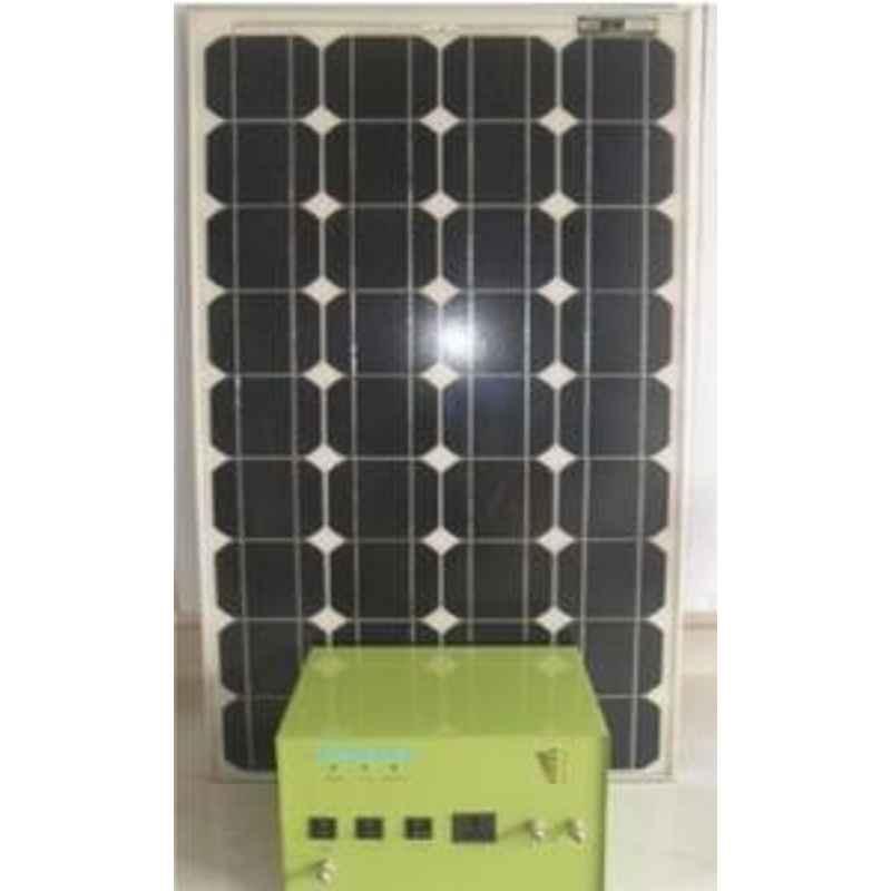 King Sun Solar Mini Home Lighting System 75 Watt 12V DC KSSHL-07