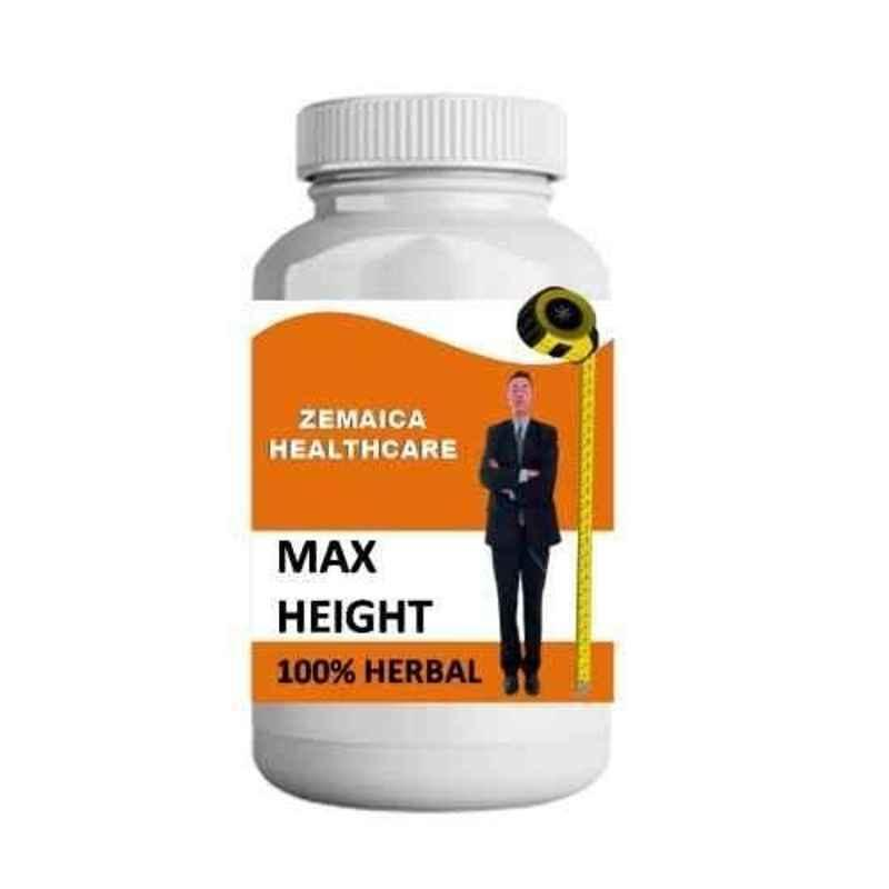 Zemaica Healthcare 100g Chocolate Flavour Max Height Growth Ayurvedic Powder (Pack of 4)